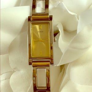 Guess Silver & Gold Bracelet Watch